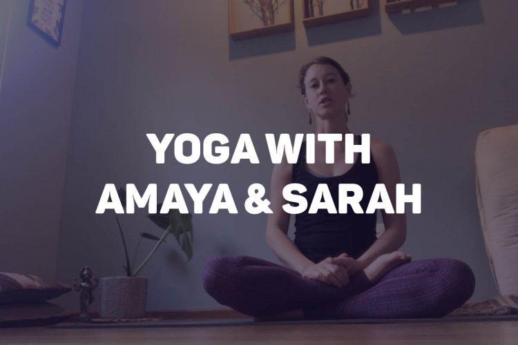 Online Yoga with Amaya and Sarah